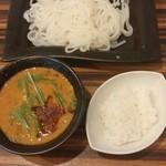 ぶらん - 辛味噌つけしら麺¥972 ※ライスはビュッフェから