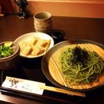 30236089 - 20140823茶そばわらび餅セット