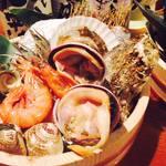 アロチャン - 漁港直送!桶焼き1680円
