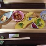 狸穴茶房 - 狸穴オリジナル和洋弁当(日替わりランチ)