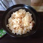 狸穴茶房 - 狸穴オリジナル和洋弁当のごはん(チョイス)