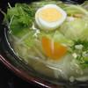 ラーメン麺家 - 料理写真:野菜たっぷり塩ラーメン