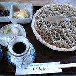 そば処 いちい - 料理写真:田舎そば(800円)
