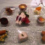 和×フレンチ 松原 - お気軽ランチの前菜6種