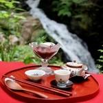 滝カフェ 器楽々 - ぜんざい冷☆