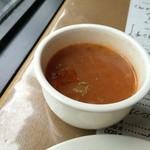 舒服 - ビーンズのトマトスープ