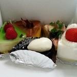 ミヤケ - 今回購入のケーキ
