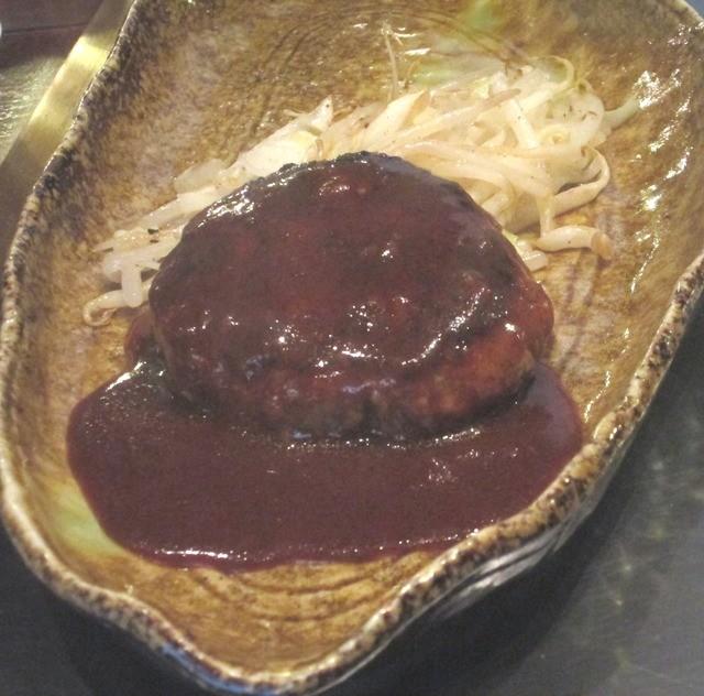 ステーキ ロン - ステーキ&ハンバーグランチのハンバーグ