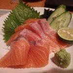 活魚水産 - トロサーモンのお刺身