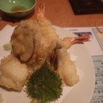 活魚水産 - 天婦羅盛り合わせ