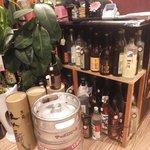 活魚水産 - お酒の種類多し