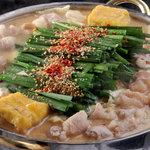 九州料理 もつ鍋ながまさ - 料理写真:味噌もつ鍋