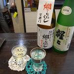酒蔵ささや - 「百楽門」と「猩々純米吟醸ちくよう」