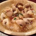 スペイン料理 イビサ - マッシュルームのにんにく焼き