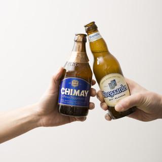 世界のビールとワインとカクテルをぜひ