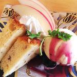 オークフード - 料理写真:ランチセットのデザート【+130円】
