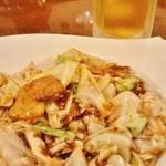 和平飯店 - ビールセットA(回鍋肉)