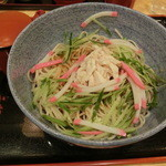 小諸そば - 和風冷麺大盛430円