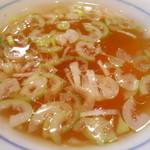 ラーメン一政 - スープ