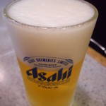 ラーメン一政 - 生ビール
