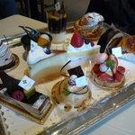 カフェレストラン カメリア - ☆選べるケーキは迷いますね(≧▽≦)~♡☆