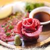 日の出焼肉 - 料理写真:馬刺し