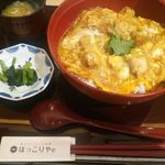 Hokkoriya - 比内地鶏親子丼