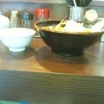 30266061 - body                                                                                             野菜ラーメン味噌¥720(麺固め) 側面