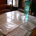 ルッカパイパイ - テーブル席