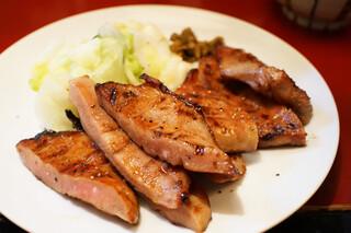 牛たんの一仙 - 真とろたん焼定食(2014年8月)