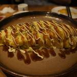 SHIROKIYA - キャベツたっぷりとん平焼き