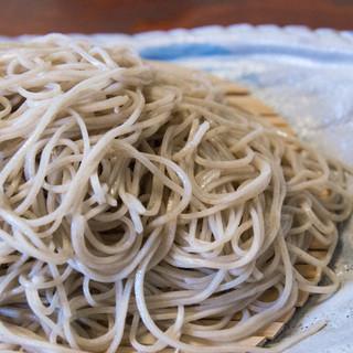 しゅばく - 料理写真:1-1)十割蕎麦・ざる(930円)