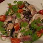 フランス家庭料理  グランダミ - 初物秋刀魚の炙り