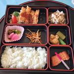 太平洋クラブ&アソシエイツ益子コースレストラン - 松花堂弁当(二日目)