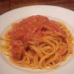 30268725 - トマトとニンニクのスパゲティ(920円)