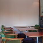 菊水茶廊 - 店内ですなぁ。^^