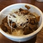 麺や 鐙 - ザーサイごはんヽ(゚◇゚ )ノ