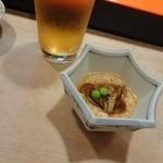 寿司の小林 - 山芋なめこ