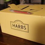 ハーブス - パッケージ、このままなんとかわが家の小っちゃい冷蔵庫に入った