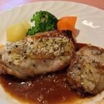 スウィートバジル 与野西口本店 - 鶏もも肉香草パン粉焼き