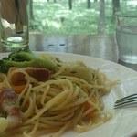 30273771 - 野菜とベーコンのペペロンチーノ