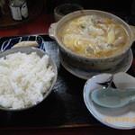 30277450 - ホルモン鍋定食850円
