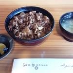 西田屋 - 牛丼