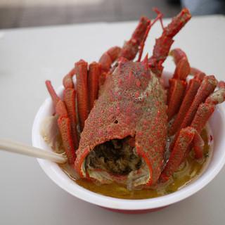 らあめん寸八 - 料理写真:サマーフェストプレミアム ロブスターの味噌らあめん~☆