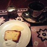 3028387 - ランチのコーヒーとデザート