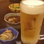 和食 居酒屋 花岬 - 嫁が居酒屋行きたいと言うので、花岬でカンペ( ^ ^ )/□ 飲むのはお父さんだけなんですけどね。
