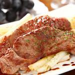 カーサ デ ソレラ - 柔らかい蒲萄牛のステーキ
