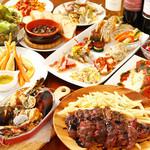 カーサ デ ソレラ - お肉とお魚のフルコース