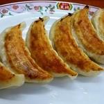 餃子の王将 - 焼きめしセットの餃子