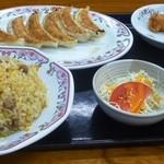 餃子の王将 - 焼きめしセット